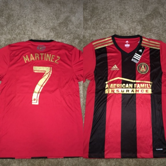 the best attitude 40c0b 53757 Atlanta United Home 17/18 Jersey MLS MARTINEZ#7 NWT